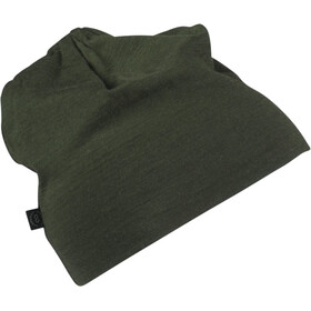Lundhags Merino Light Beanie Dark Forest Green